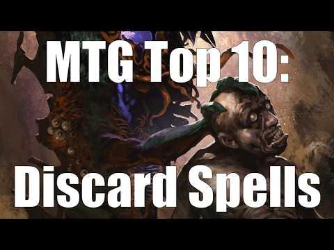 MTG Top 10:  Discard Spells
