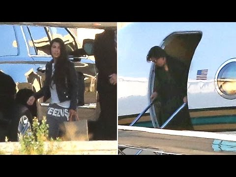 Kris Jenner And Kourtney Kardashian Rush Home From NYC On Private Jet Amid Kanye Crisis