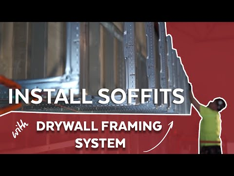 Soffit Installations with Drywall Framing System by Armstrong Ceilings