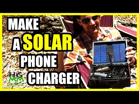 How to Build a Solar Cell Phone Charger