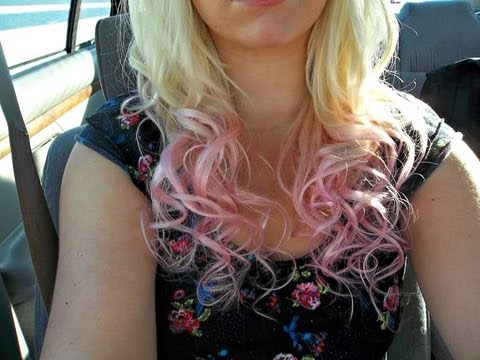Dying My Hair Ombre Blonde to Pink