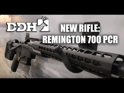 The New Remington 700 PCR Centerfire Rifle | Innovation Zone @deerhuntingmag
