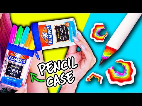 10 DIY School Supplies Using Everyday Objects! Back To School 2017