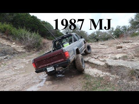 1987 Jeep Comanche MJ Rock Crawling In Muddy Conditions - Unedited S2E39