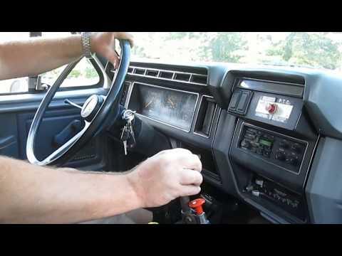 Driving 1992 F-700 Dump Truck