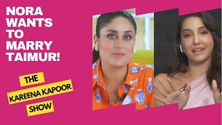 Nora Fatehi wants to marry Taimur | Dabur Amla Aloe Vera What Women Want