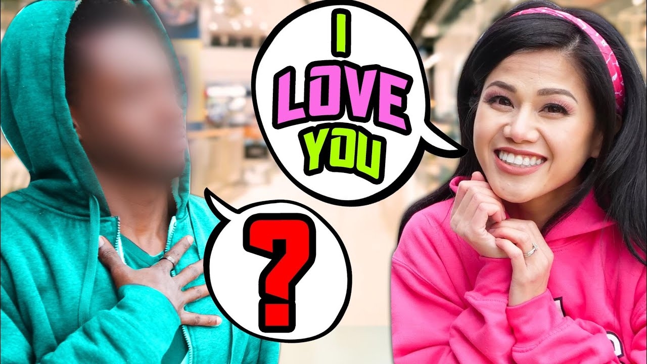 SURPRISING STRANGERS with LOVE PRANKS! Funny Situations & Awkward Moments in Public w/ Best Friends