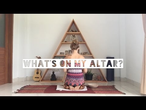 What's on my altar?
