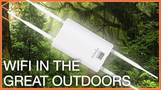 Engenius Ens620ext Outdoor Access Point - Strong Wifi Outside The House!
