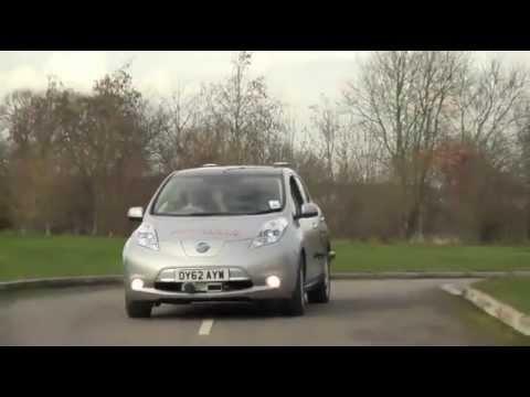 Oxford University unveils robot car