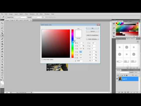 How to Make a Border Around your Picture on Photoshop