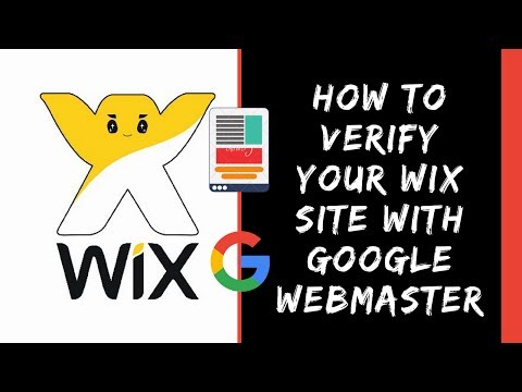 How to Verify your Wix website with Google Webmaster | SEO