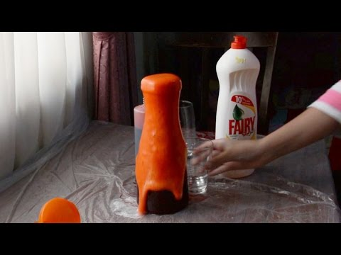 Soap Volcano experiment - science experiment - Jana Alkarajeh