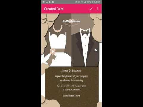 Make invitation cards with Mwaliko App