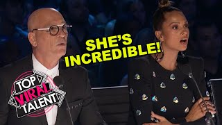 FEMALE MAGICIAN STUNS JUDGES With HER EMOTIONAL STORY During Audition!