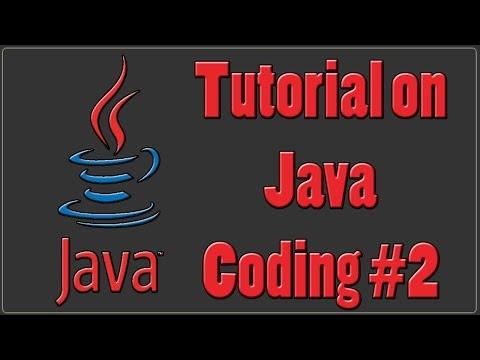 Java Programming Tutorial Part 2 | Running a  Java Program