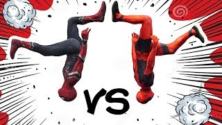 Download Infinity War Spiderman VS Deadpool In Real Life (Parkour, Tricking, Tumbling) Video