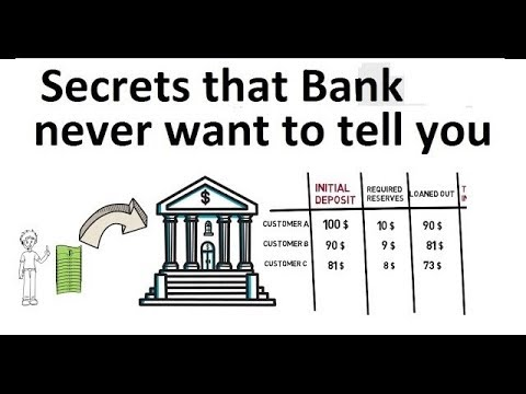 How Banks create Money out of nothing | The Hidden Secret - Part 1