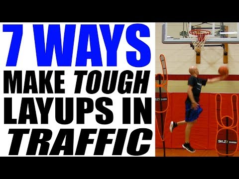 How To Make Layups IN TRAFFIC Over Taller Defenders & With Contact!