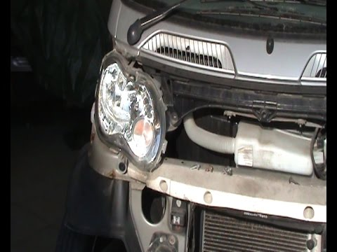Scheinwerfer macht Geräusche beim smart * subtext:English* Headlight makes noise at the smart