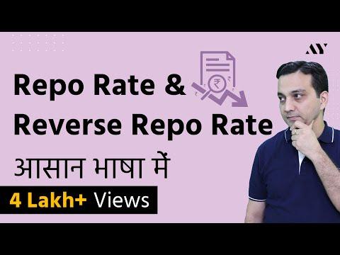 Repo Rate & Reverse Repo Rate - Liquidity Adjustment Facility in 2018 (Hindi)