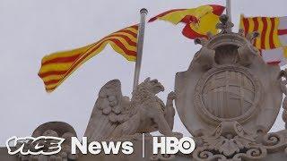Catalan Vote For Independence Sends Spain Into Chaos (HBO)