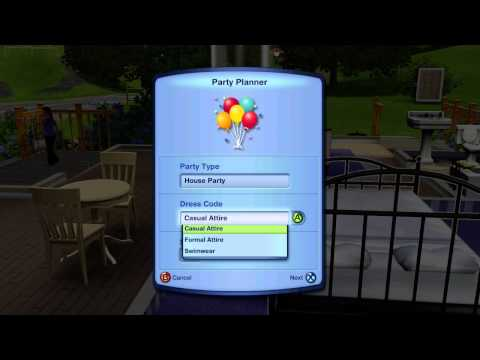 Sims 3 How to Hold a Party
