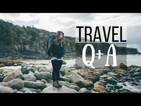 Is It Safe To Travel, Becoming a Vlogger + MORE! [Travel Q+A]