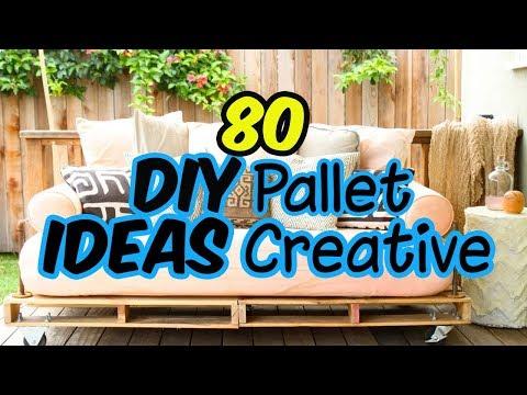 80 DIY PALLET Ideas Creative