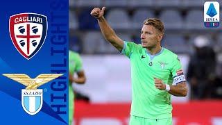 Cagliari 0-2 Lazio   Lazzari & Immobile Score to secure first Win   Serie A TIM