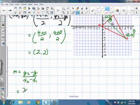 Centroid of a Triangle Grade 10 Academic Lesson 3 2 10 1 12