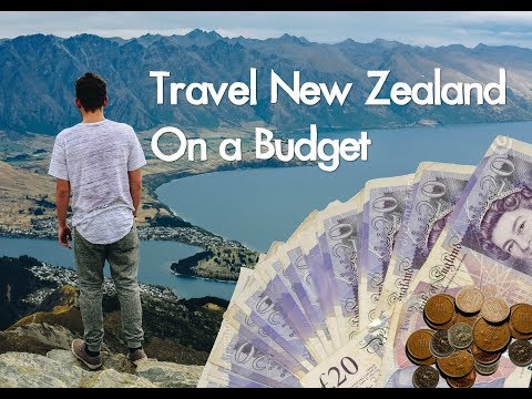 HOW TO TRAVEL NEW ZEALAND CHEAP - New Zealand Budget Breakdown