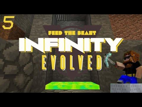 Minecraft: FTB Infinity Evolved - Ep.5 - Xp Storage Tank