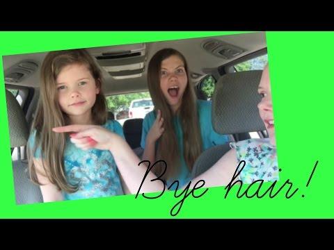 Cutting all their hair off!