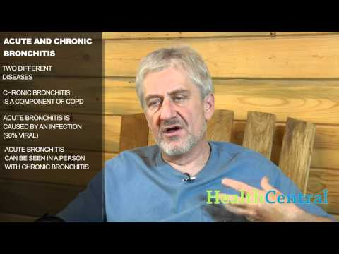 Acute Bronchitis vs. Chronic Bronchitis