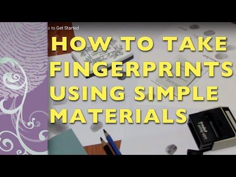 Fingerprints - 3 Simple Ways to Get Started
