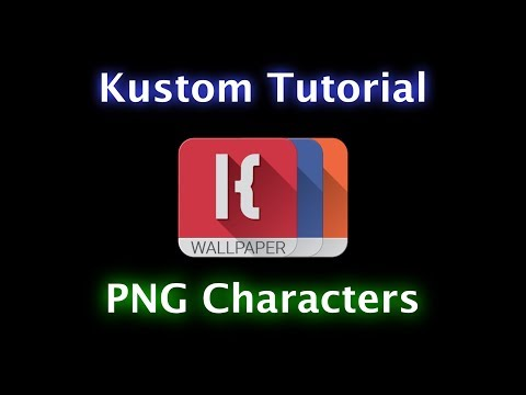 Kustom Tutorial - PNG Characters for Song Titles and MORE!