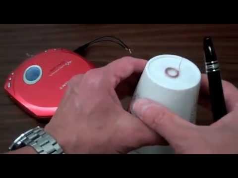 Styrofoam Cup Loudspeaker