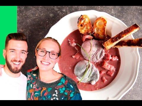 Poached Eggs in Red Wine - Les Oeufs en Meurette : Paris Vlog #16