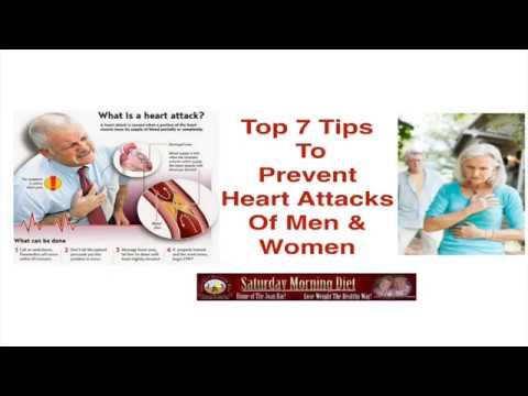 Top 7 Tips To Prevent Heart Attacks Of Men & Women
