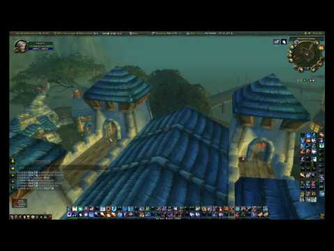 Slow Falling from Ironforge to Menethil Harbor - World of Warcraft Tricks (WoW)