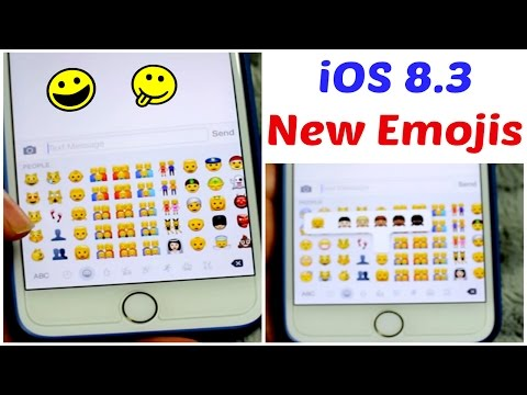 New Emojis iOS 8.3 Update Iphone 6 Plus