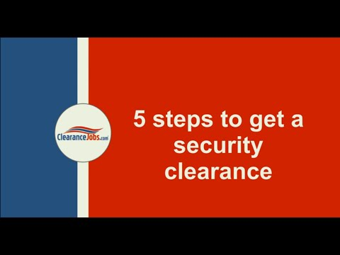 How to Get a Security Clearance