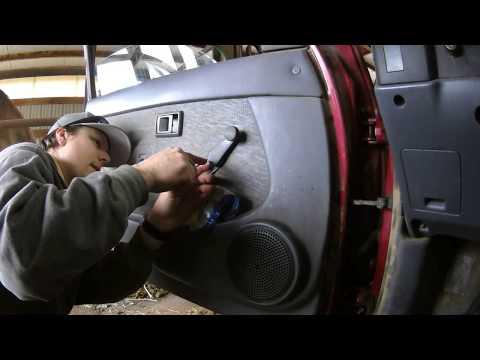 Replacing 1998 Toyota Tacoma Exterior Door Handles
