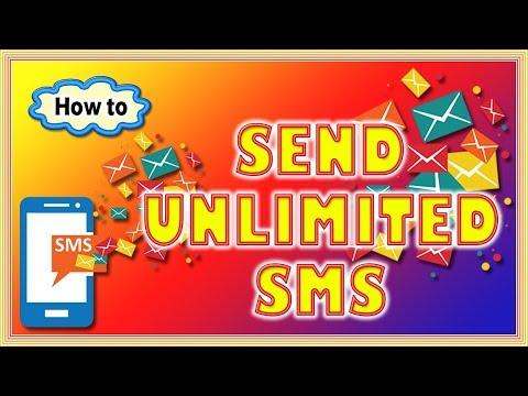 How to Send Unlimited SMS