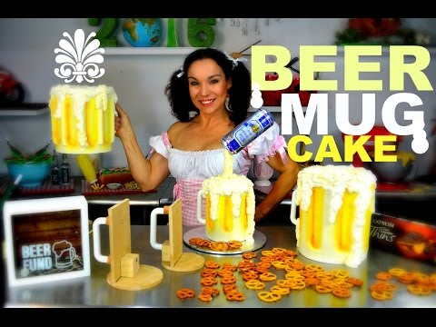 BEER MUG CAKE THAT YOU CAN PICK UP   FATHER'S DAY OR OCTOBER FEST   BY VERUSCA WALKER