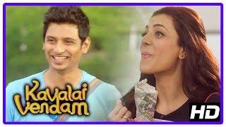 Jiiva New Movie | Kavalai Vendam Movie Scenes | Jiiva and Kajal get married | RJ Balaji