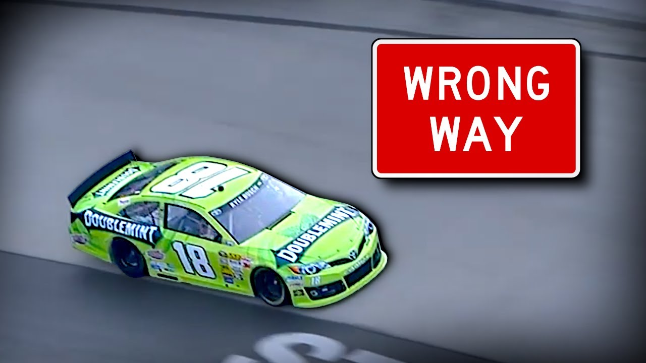 """NASCAR """"Knowing the Rules"""" Moments"""