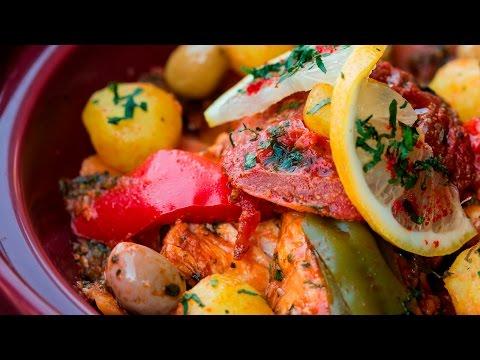 [ENG]  Fish Tagine With Vegetables / طاجين السمك بالخضر - CookingWithAlia - Episode 439
