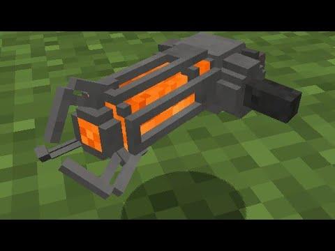 Minecraft: How to make a Gravity Gun using Command Block
